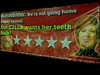 CILLA WANTS HER TEETH BACK