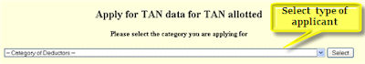 TAN Application Through NSDL Online  Form 49?