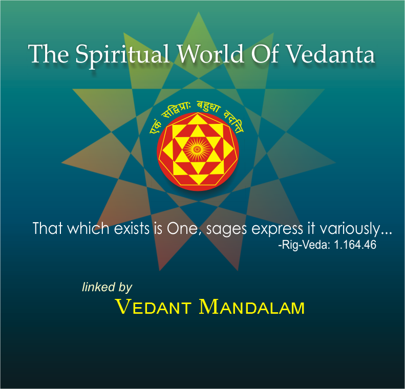 The Spiritual World Of Vedanta