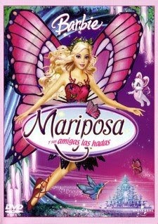 Barbie+Mariposa Colección de barbie 12 DVDs