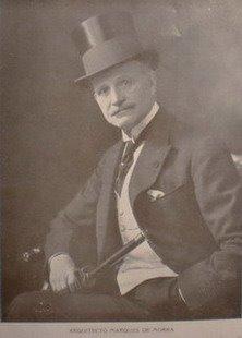 Arquitecto Carlo Morra (Nápoles 18/12/1853 - Buenos Aires 30/06/1926)  Marqués de Monterochetta