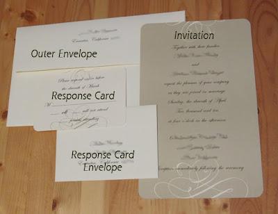 Weddingobservance wedding etiquette used wedding dresses for Wedding invitation stuffing etiquette