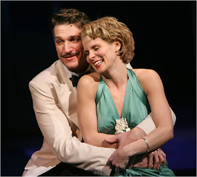 Paulo Szot and Kelli O'Hara in SOUTH PACIFIC.