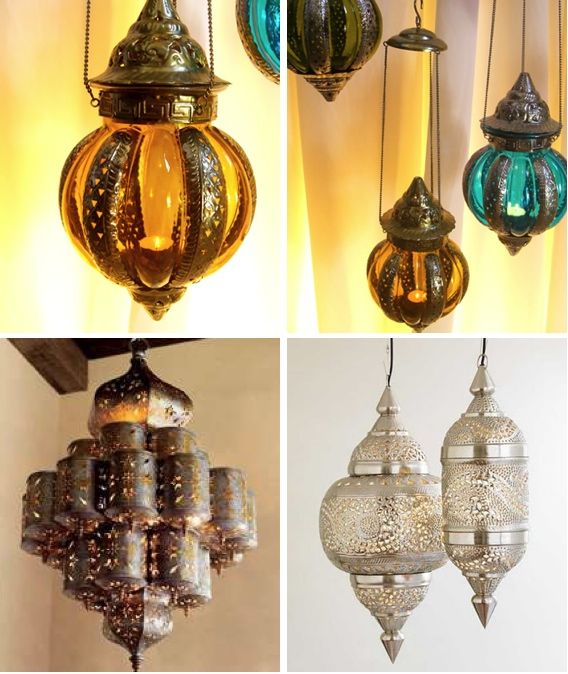 Moroccan Style Lamps and Lanterns