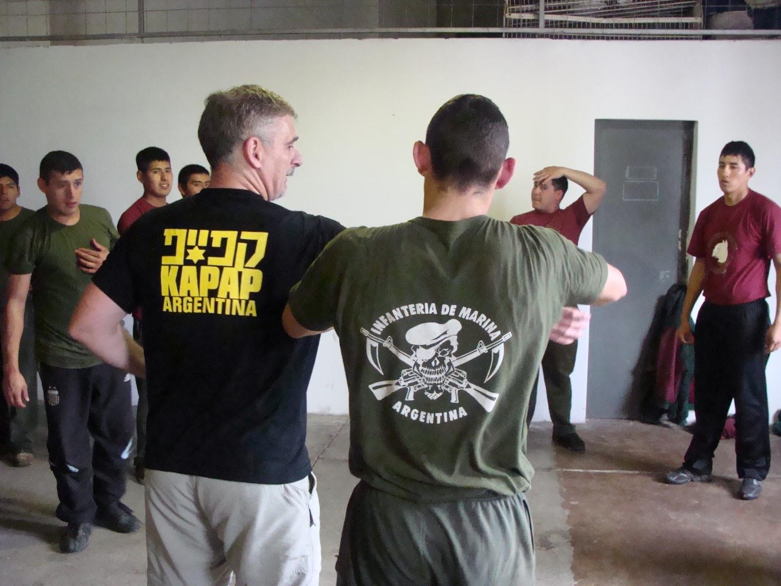 El kapap Maga en la Infanteria de Marina Argentina