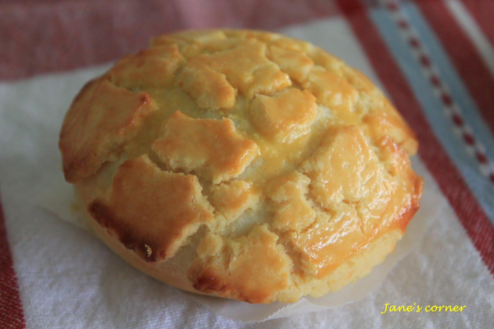 用了 妃娟的低溫發酵法甜麵包食譜 做我超愛的菠蘿 ...