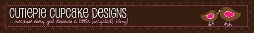 Cutiepie Cupcake ::Scrabble Tile Pendants::