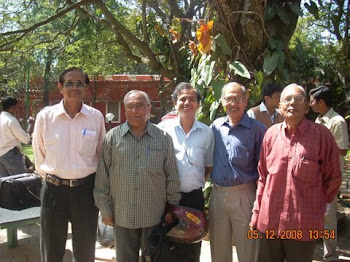 senior cartoonists MR. K.R.SWAMY, MR.V.G.NARENDRA AND SOME EMINENT GUESTS