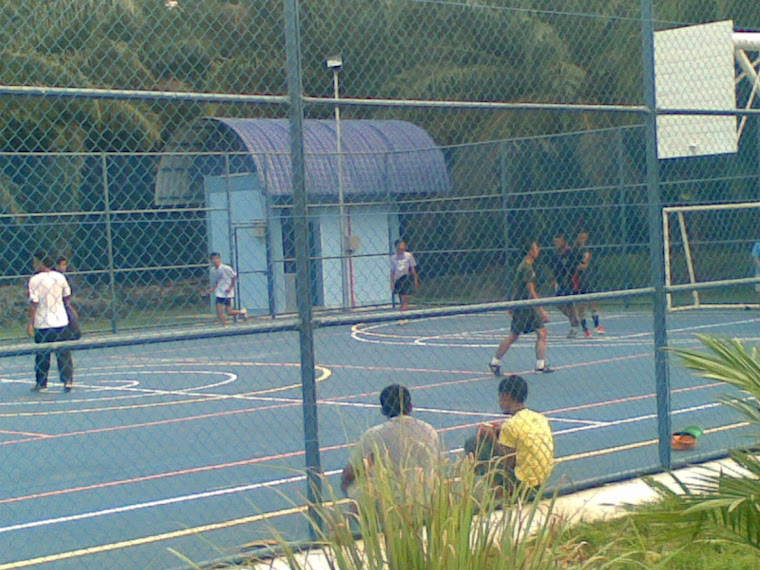 FUTSAL REMAJA SABAN PETANG DI PT SENAH....
