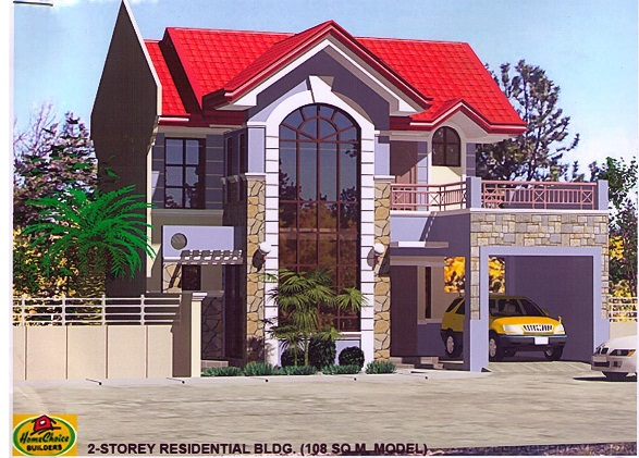 home designs: 2-storey house on 108sqm lot: model cyh 108a