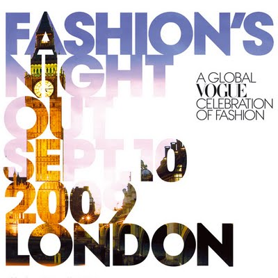 High Street Fashion Designers on Vogue Fashion   S Night Out In London 2010   Know What To Expect
