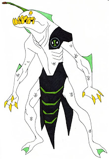 Another Ben 10 Alien Is Ripjaws A Ferocious Mix Of Alligator Eel Anglerfish And Shark His Main Ability Being Able To Breathe Underwater