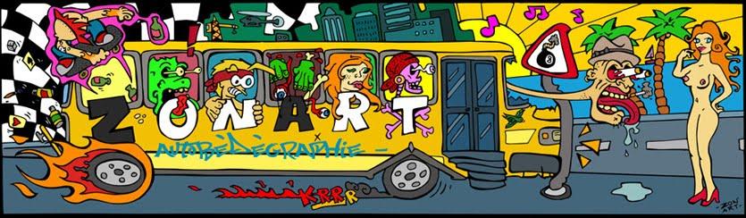 Zon'Art AutoBéDéGraphie -