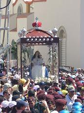 Siete kilómetros y medio la Procesión de la Divina Pastora este jueves 14 de enero