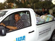Activado el Centro de Acopio UNE de 8am a 8pm todos los días, para colaborar con el pueblo de Haití