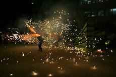 """""""Opening with Fire"""" Noche de eventos en la Universidad Nueva Esparta"""
