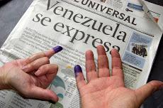 Venezuela salió a votar este Domingo 23
