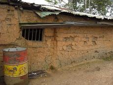 Casa de Bahareque, durante la pregira a la zona rural de TURGUA