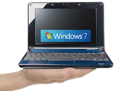 Windows 7: netbooks más caros, Actualmente Microsoft está vendiendo versiones de Windows XP