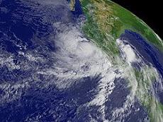 Primer huracán de la temporada en el Pacífico Andrés de categoría uno.