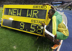 Mundo deportivo asombrado Plusmarquista jamaicano Usain Bolt, aplastó su propio récord mundial