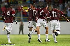 La selección venezolana concreto su primera goleada mundialista ante Tahití 8 goles a 0