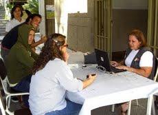 Operativo de actualización de datos CNE en la Universidad Nueva Esparta,  Martes y Miércoles