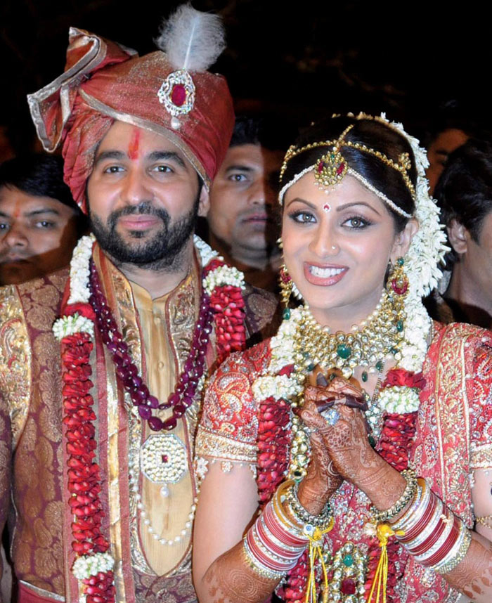 shilpa shettys wedding pictures