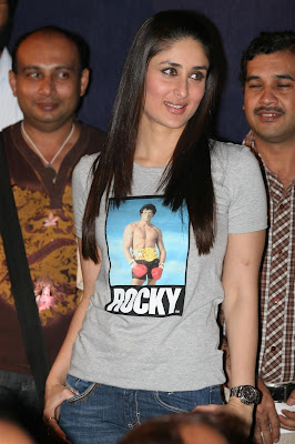 Kareena Kapoor In T Shirt