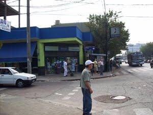 Av. Juan M. de Rosas (ex- Provincias Unidas) y Las Heras año 2009  -HOY-