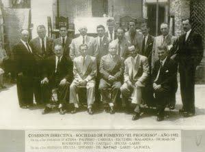 Sociedad de Fomento El Progreso - 1952