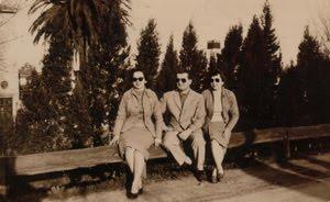 Av. Gral. Paz - año 1956, próximo a Puente Liniers - Guadrail de troncos!!!