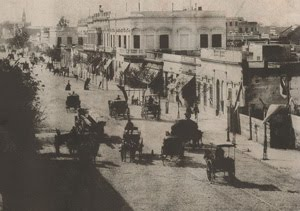La calle larga de Barracas, Av. Montes de Oca - año 1900 circa.