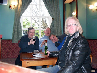 Cheers! Stoke Prior - The Boat and Railway