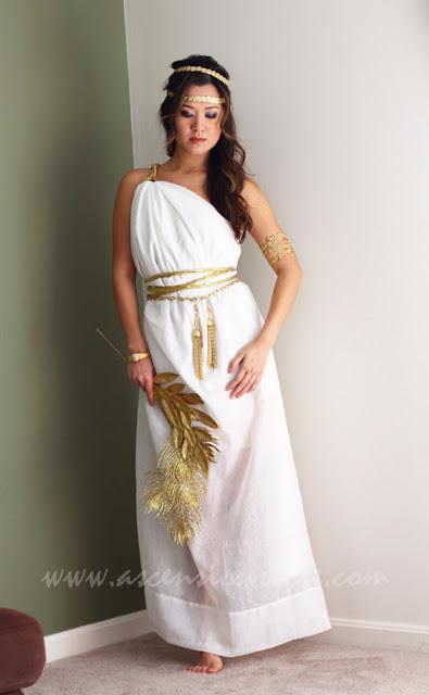 greek goddess costume for kids girls