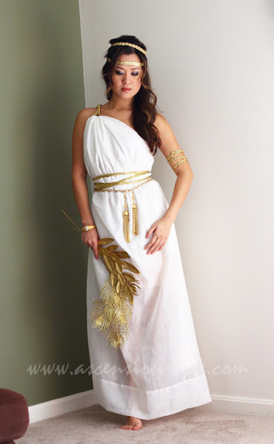 Greek Goddess Costume Diy
