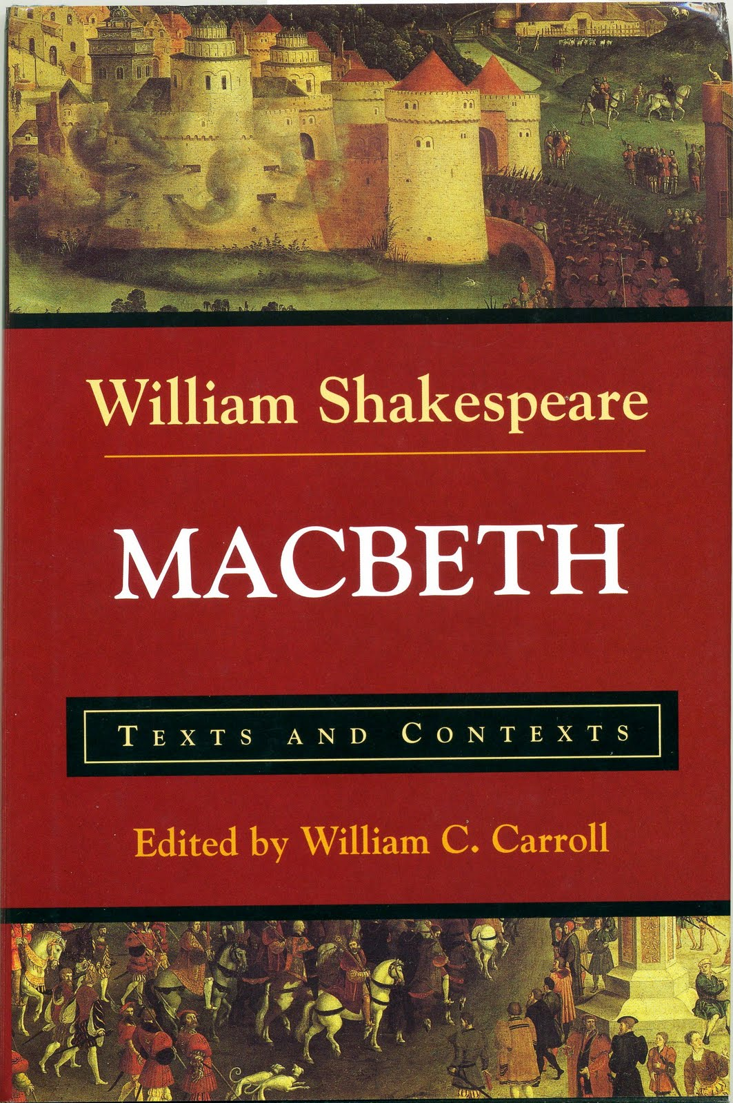 a literary analysis of the events in macbeth by william shakespeare