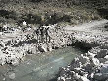 Rotura del mineraloducto de La Alumbrera