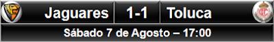 Jaguares 1-1 Toluca