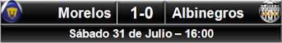 Pumas Morelos 1-0 Albinegros Orizaba
