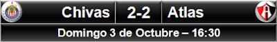 Chivas 2-2 Atlas