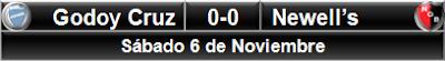 Godoy Cruz 0-0 Newell's