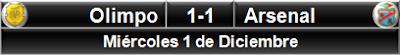 Olimpo 1-1 Arsenal Sarandí