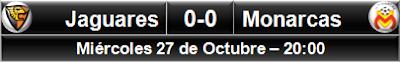 Jaguares 0-0 Monarcas Morelia
