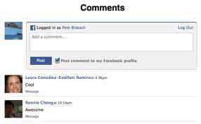 Kotak Komentar Facebook di Bawah Posting