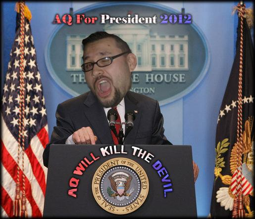 Aq For President In 2012