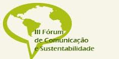 III Fórum de Comunicação e Sustetabilidade