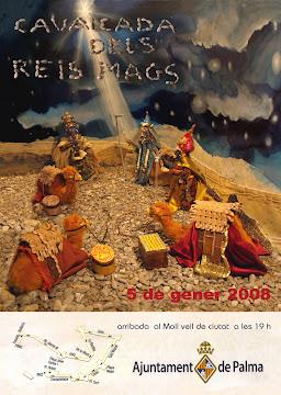 poster cabalgata reyes 2008