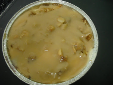 TOFFEE CACEMEL CHEESE CAKE WALNUT