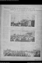 LA CORONACION PONTIFICIA DE 1928 EN EL DIARIO 'EL ORDEN'